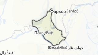 Térkép / Панҷ