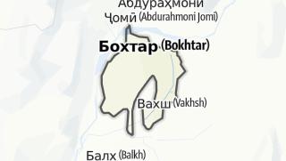Térkép / Бохтар