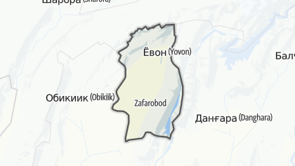Mapa / Ёвон