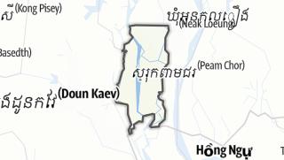 地图 / Kaoh Thum