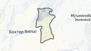 Térkép / Данғара