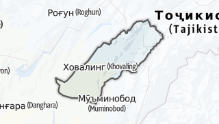 Térkép / Ховалинг