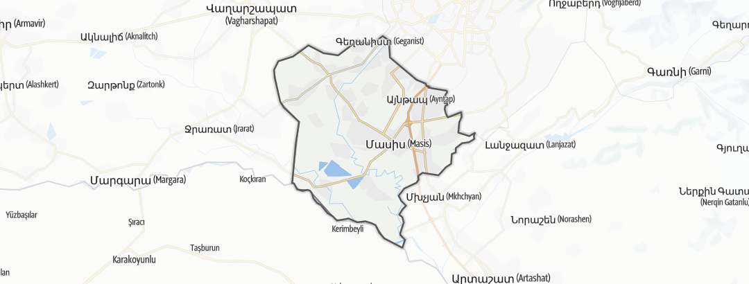 Map / Մասիս