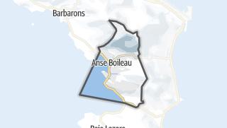 Hartă / Anse Boileau