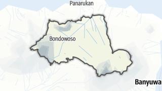 Kartta / Bondowoso