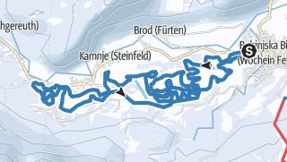 Tekaška proga Bohinjska Bistrica - Dobrava - Žlan (8 km)