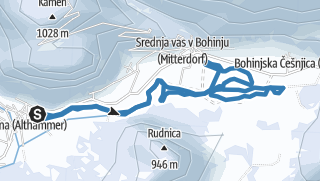 Tekaška proga Zgornja dolina