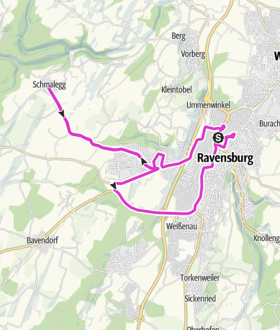 Map / Road Cycling on 9 December 2020 at 5:08 PM