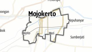 Kartta / Kota Mojokerto