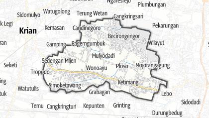 Kartta / Wonoayu