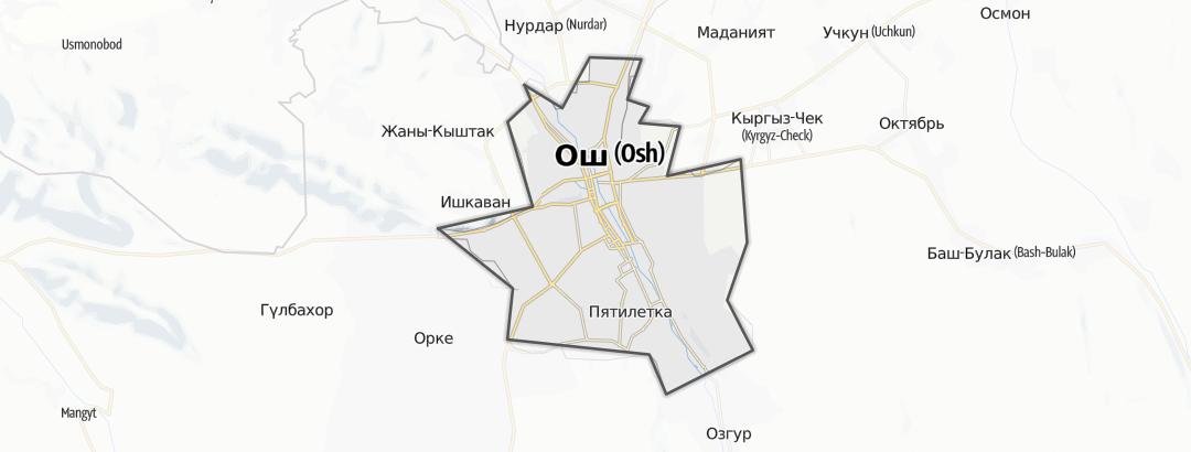 Mapa / Osch