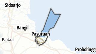 Kartta / Kota Pasuruan