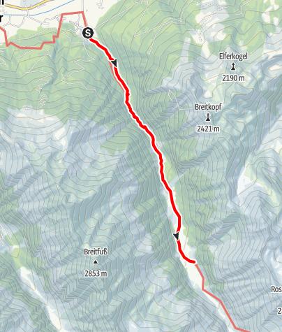 Carte / Route d'Émeraude