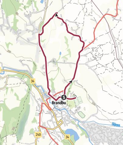 Map / Kjølvegen - Eggelinna