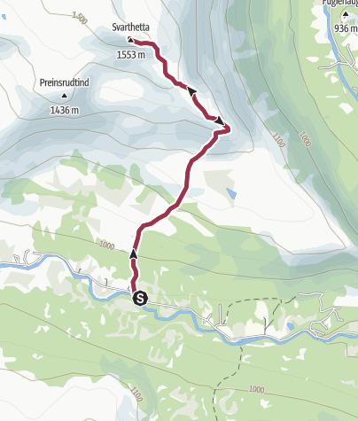 Map / Svarthetta