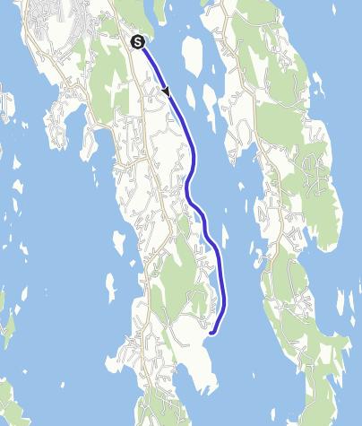 Map / Ormestadvika to Grubesand