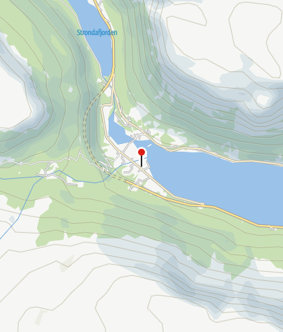 Map / Øye Stave Church