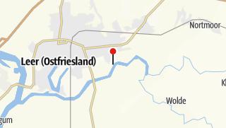 Karte / Kombitour von Leer nach Stickhausen