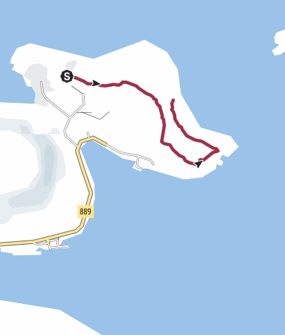 Map / Russehula
