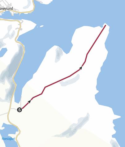 Map / Trollfjordneset