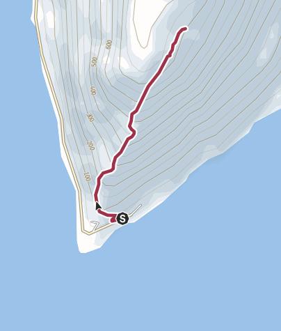 מפה / Menesstølen