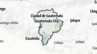 Kartta / Guatemala