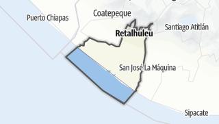 Kartta / Retalhuleu