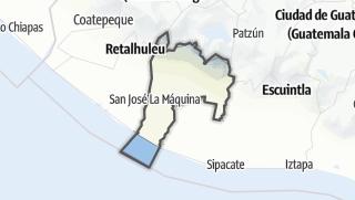 Kartta / Suchitepéquez