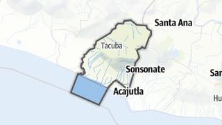Hartă / Ahuachapán