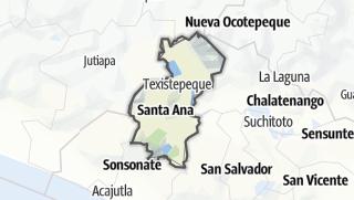 Carte / Santa Ana