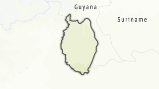 Hartă / Alto Tacutu-Alto Esequibo