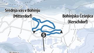 #BohinjChallenge Srednja vas (3,5 km)