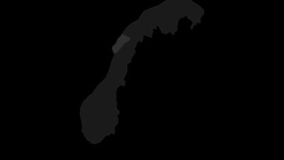 Mapa / Lofoten