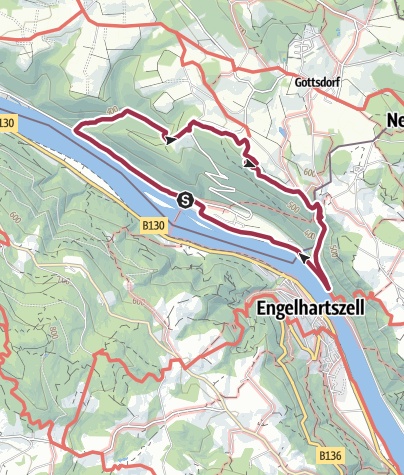 地图 / Die Donauleiten Runde