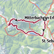 Karte / Sagenwanderweg Nr. 2