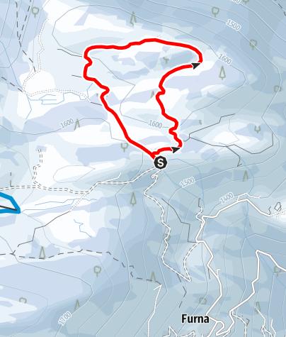 Map / Schneeschuh Rundtour Ried Furna