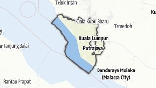Hartă / Selangor