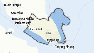 Hartă / Johor