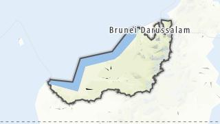 Hartă / Sarawak