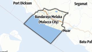 Hartă / Melaka