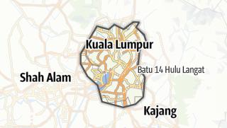Hartă / W.P. Kuala Lumpur
