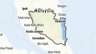 Hartă / Pahang
