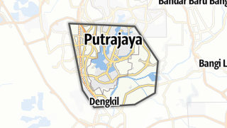 Hartă / W.P. Putrajaya