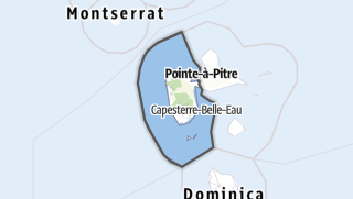 Kartta / Basse-Terre