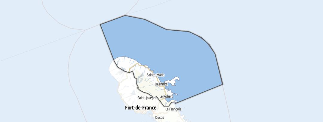 Térkép / La Trinité