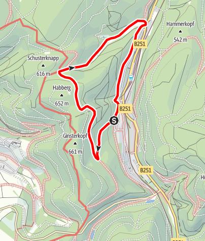 Karte / Brilon-Wald (Bw3)