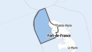 Kartta / Saint-Pierre