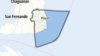 Karte / Mayaro/Rio Claro