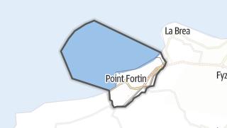 Karte / Point Fortin