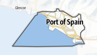 Karte / Port of Spain